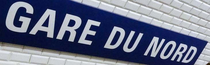 Métro Gare du Nord